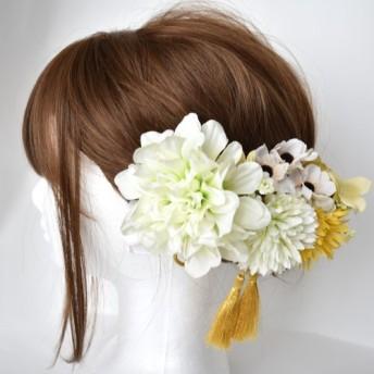 ナチュラルな髪飾り卒業式前撮り結婚式