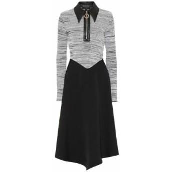 エラリー Ellery レディース ワンピース ミドル丈 ワンピース・ドレス Palawan knit midi dress Black