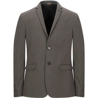 《セール開催中》PATRIZIA PEPE メンズ テーラードジャケット ミリタリーグリーン 46 コットン 56% / ポリエステル 40% / ポリウレタン 4%