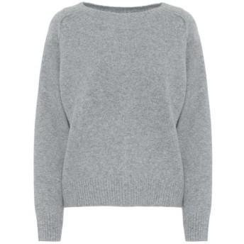ヴィンス Vince レディース ニット・セーター トップス Cashmere and silk sweater Med H Grey
