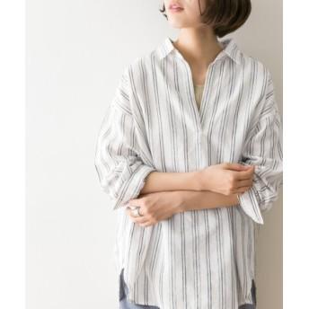 URBAN RESEARCH(アーバンリサーチ) トップス シャツ・ブラウス 高機能リネンスキッパーシャツ【送料無料】