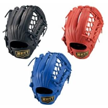 【ZETT/ゼット】野球 軟式 グラブ サイズ6 デュアルキャッチ グローブ M号球対応 【軟式オールラウンド用】 BRGB34040