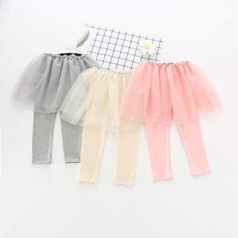 女の子 おしゃれな スカッツ 網糸 スカートパンツ トレンディースカッツ プリンセス キッス 子供服 全3色