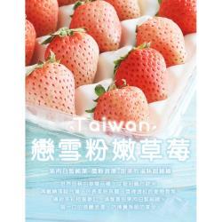 築地一番鮮-台灣獨特-戀雪粉嫩草莓1箱(500g/箱)