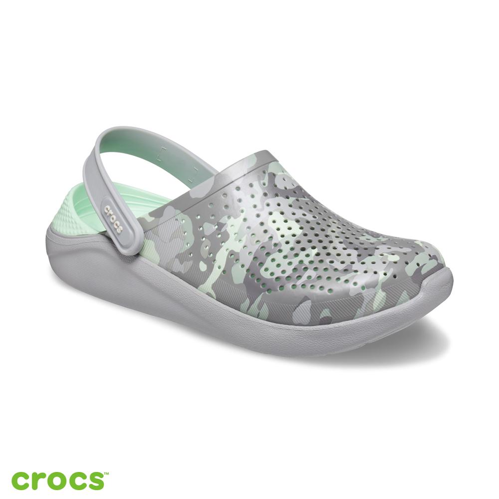 Crocs 卡駱馳 (中性鞋) LiteRide迷彩克駱格 206491-3TO