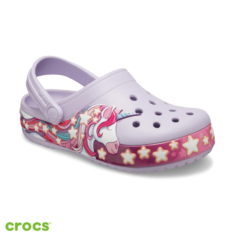 Crocs 卡駱馳 (童鞋) 趣味學院獨角獸小克駱格 206270-530
