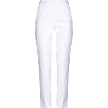 《セール開催中》OTTOD'AME レディース パンツ ホワイト 38 コットン 97% / ポリウレタン 3%