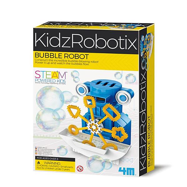 【4M】03423 機械科學-泡泡外星人 Bubble Robot