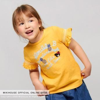 ミキハウス Tシャツ 黄