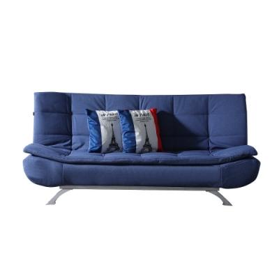 MUNA 狄克布沙發床(藍色) 190X90X80cm