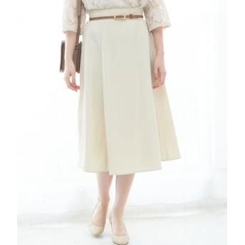 ロペピクニック/【WEB限定】【2WAY】ベルト付きスカート/ベージュ/38