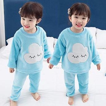 韓国子供服 キッズ 子供 ベビー服 ルームウェア 長袖 パジャマ 寝間着 上下セット