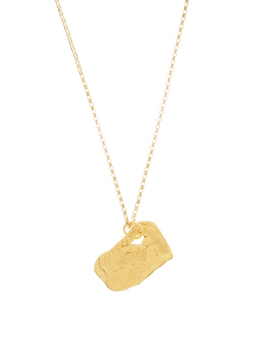 Alighieri - The Ox 24kt Gold-plated Necklace - Womens - Yellow Gold