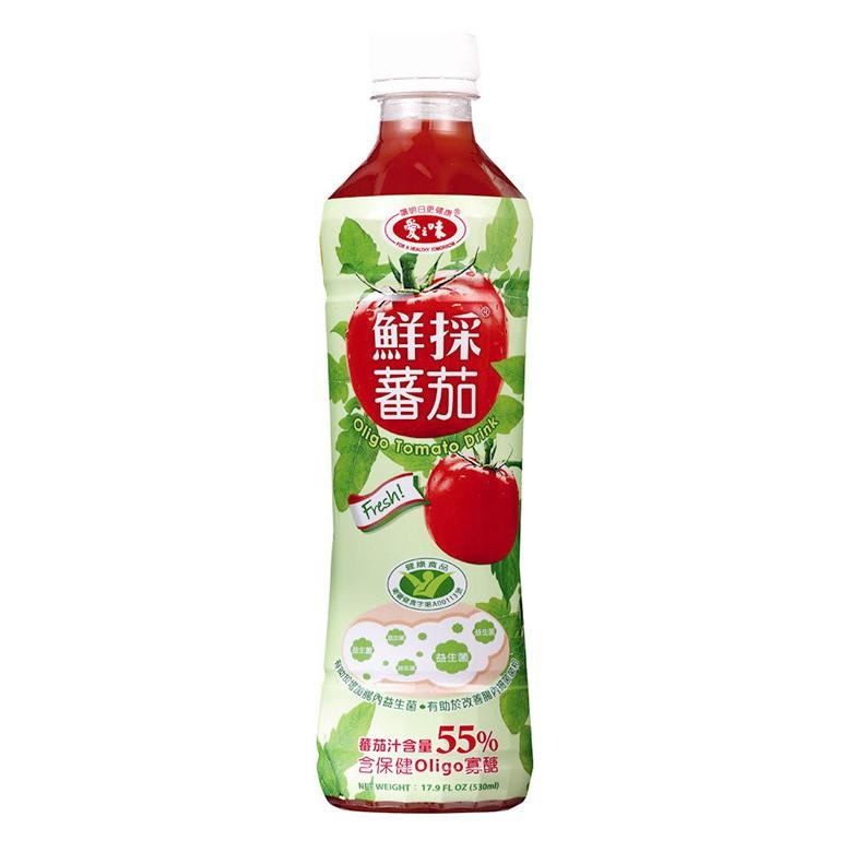 愛之味 鮮採蕃茄-Oligo保健(530毫升x4瓶/組)[大買家]