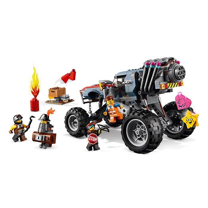 LEGO 樂高 樂高玩電影2 70829 艾密特和露西的越野車 【鯊玩具Toy Shark】