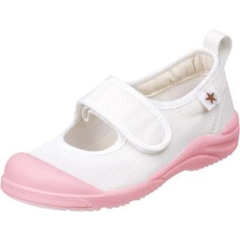 ムーンスター 子供靴 MSリトルスター02 ピンク お子様の足を徹底研究した上履き(14.5cm)