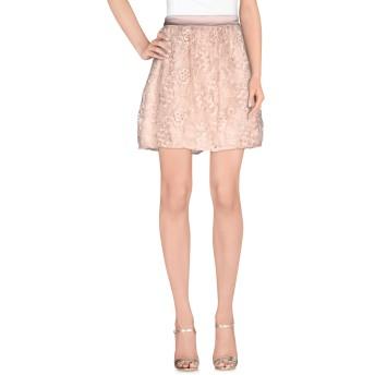 《セール開催中》HOPE COLLECTION レディース ミニスカート サンド 40 ポリエステル 100%