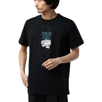 【OFF-WHITE/オフホワイト】DRIPPING ARROWS S/S OVER T-SHIRT[OMAR20-014] ブラック Tシャツ メンズ 国内正規品