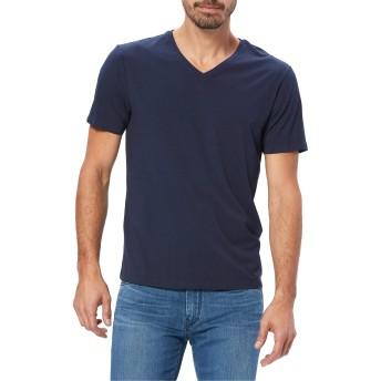 Paige(ペイジ) トップス Tシャツ PAIGE Grayson V-Neck T-Shirt Deep Ancho メンズ [並行輸入品]