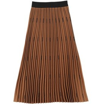 【MILKFED.:スカート】LOGO PLEATED SKIRT