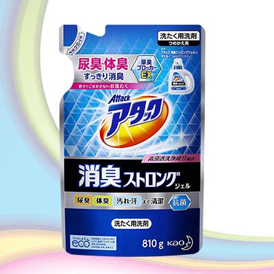 ✧日本境內版✧【一匙靈】ATTACK 高浸透洗衣補充包770ml/抗菌除臭洗衣補充包810ml
