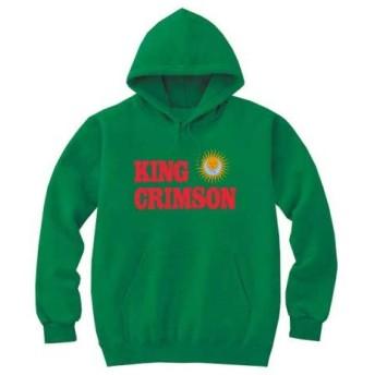 [8色]BANDLINE(バンドライン) King Crimson キング クリムゾン バンド ロック パンク メタル パーカーケリーグリーン 2XLサイズ
