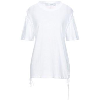 《セール開催中》IRO レディース T シャツ ホワイト XXS リネン 100%