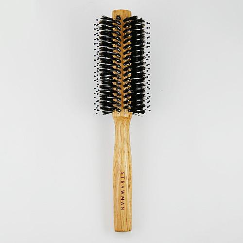 STRAW MAN 豚毛捲梳(M5720) 1入 圓捲梳 圓梳 美髮梳 STM【BG Shop】