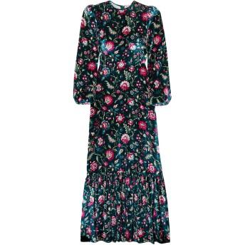《セール開催中》THE VAMPIRE'S WIFE レディース ロングワンピース&ドレス ブルー 8 シルク 100%