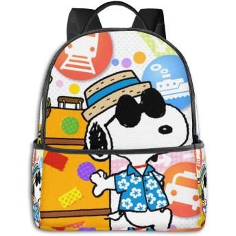 Snoopy41 男女兼用 おしゃれ 大容量 多機能 リュックサック 防水 リュック ビジネスリュック アウトドア バックパック 登山リュック 人気 高校生 大学生 通勤 通学 デイュック カスタム 個性的なリュックサック