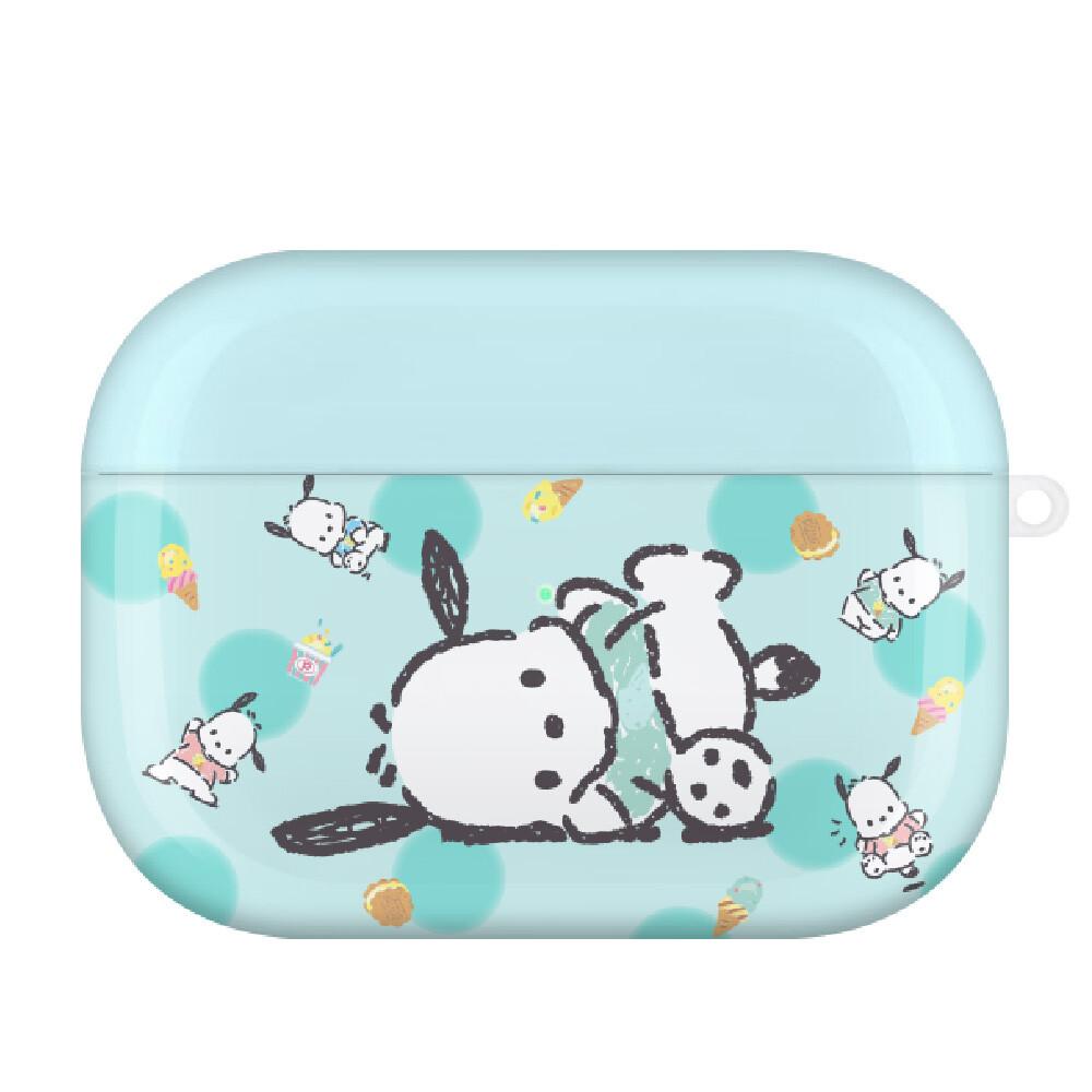 三麗鷗系列 airpods pro耳機保護套 帕恰狗 薄荷冰淇淋