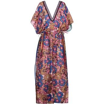 《セール開催中》ANJUNA レディース ロングワンピース&ドレス ピンク XS リネン 100%
