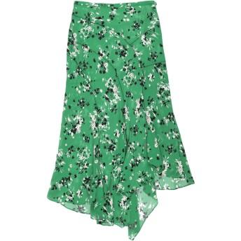 《セール開催中》VERONICA BEARD レディース 7分丈スカート グリーン 6 シルク 91% / ポリウレタン 9%