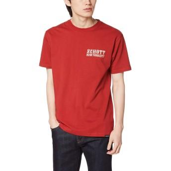 [ショット] Tシャツ OVAL LOGO TEE 3193084 メンズ 34RED 日本 S (日本サイズS相当)