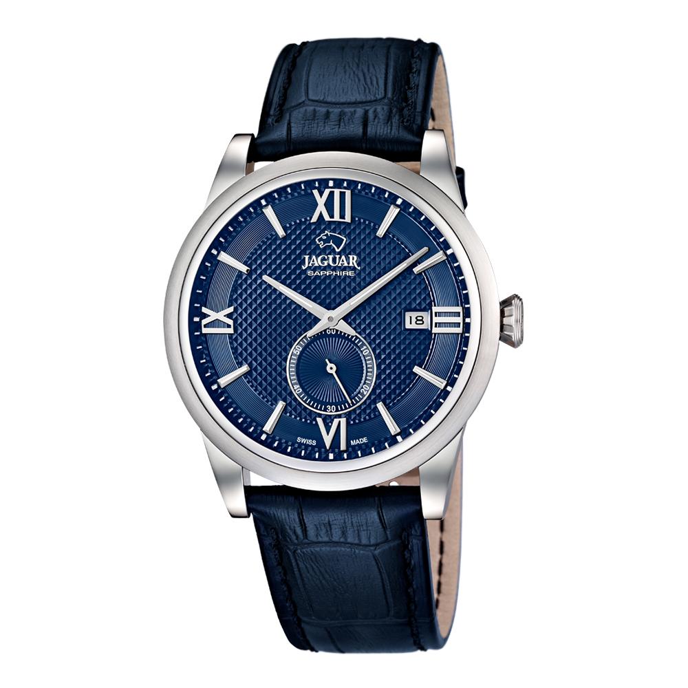 瑞士JAGUAR | 經典都會錶 (藍面) - J662/7