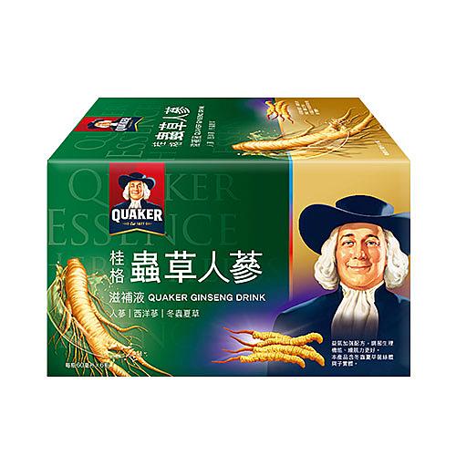 桂格冬蟲夏草養氣人蔘60ml x6瓶【愛買】