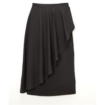サイドフレアロング丈スカート (ロング丈・マキシ丈スカート)Skirts