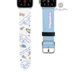 【Hong Man X Sanrio】 Apple Watch 皮革錶帶 大耳狗 38/40mm
