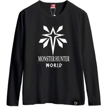 モンスターハンター ワールド PS4 Monster Hunter World MHW ロングスリーブ Tシャツ 長袖 Tシャ