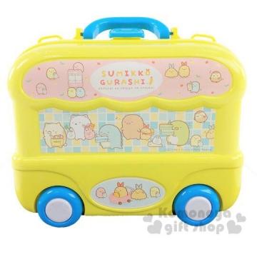 〔小禮堂〕角落生物 手提盒裝廚房玩具組《黃藍》兒童玩具.扮家家酒
