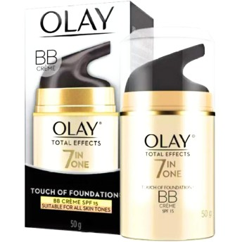 OLAY TOTAL EFFECTS 7 IN ONE BB CREAM FOUNDATION BBクリーム【DAY】SPF15 50g [並行輸入品]