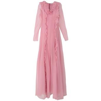 《セール開催中》ANNA MOLINARI BLUMARINE レディース ロングワンピース&ドレス ピンク 46 シルク 100%
