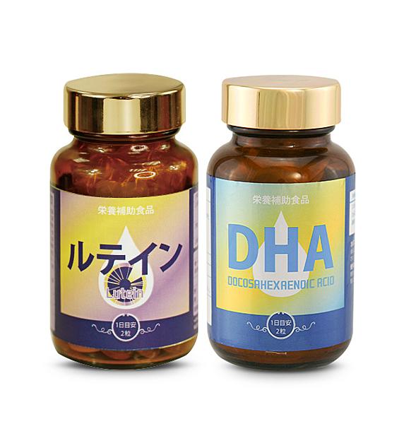 健康食妍 金盞葉黃素*1+DHA70*1【BG Shop】