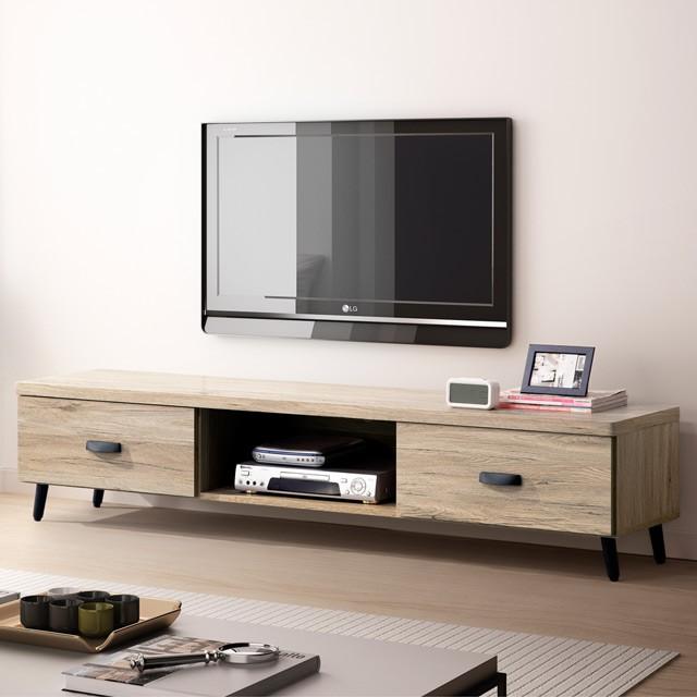 YoStyle 諾拉6尺電視櫃 TV櫃 矮櫃 專人配送