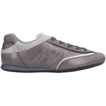 《セール開催中》HOGAN レディース スニーカー&テニスシューズ(ローカット) ドーブグレー 36 革