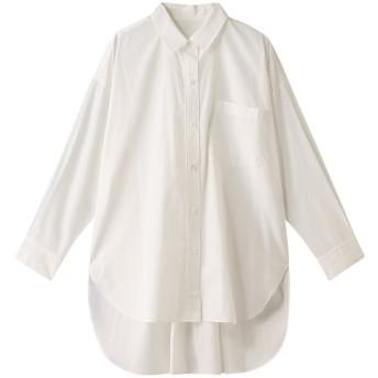 GALLARDAGALANTE ガリャルダガランテ ボックスオーバーシャツ ホワイト