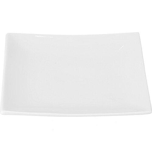 《Tokyo Design》白瓷方型淺餐盤(20cm)