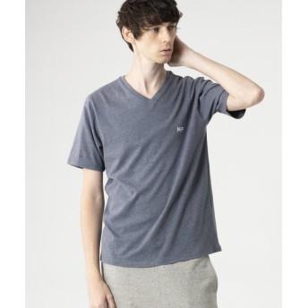 【42%OFF】 マッキントッシュ フィロソフィー MPロゴ Vネックプルオーバー Tシャツ メンズ ブルー 42 【MACKINTOSH PHILOSOPHY】 【セール開催中】