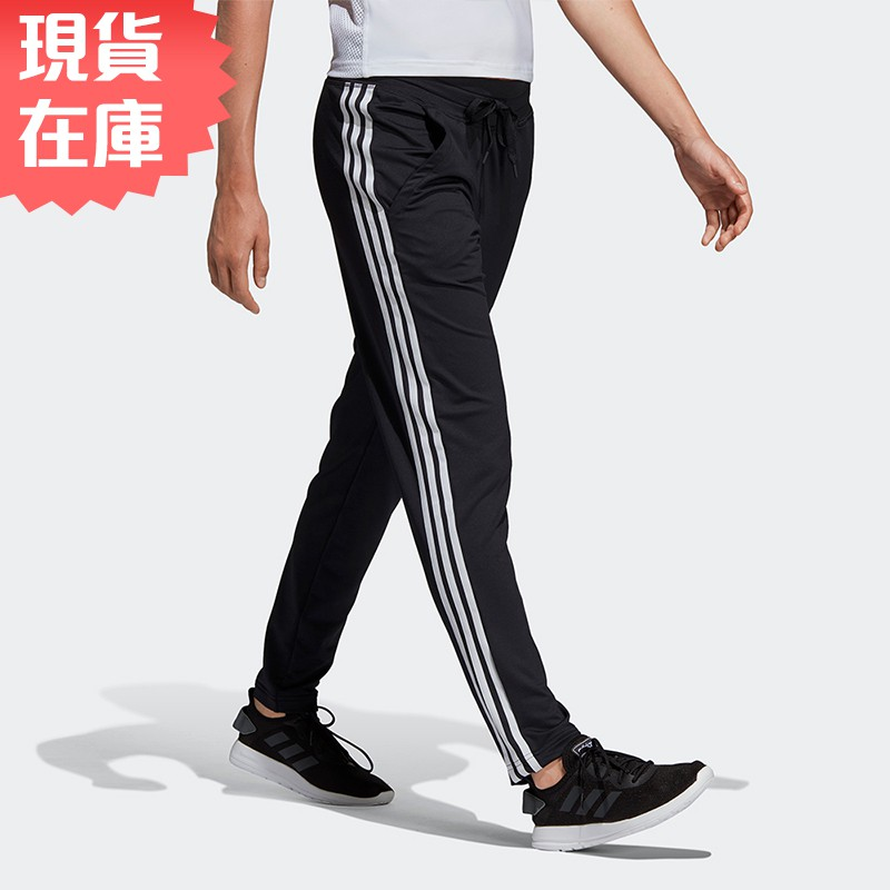 Adidas D2M 3-S 女裝 長褲 休閒 慢跑 訓練 排汗 黑【運動世界】DS8732【現貨】