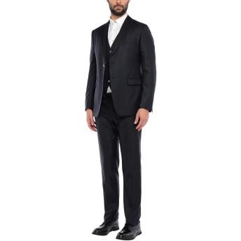 《セール開催中》ALESSANDRO DELL'ACQUA メンズ スーツ ブラック 54 ウール 70% / シルク 30%